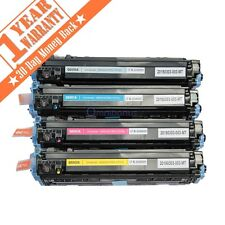 4 Color Toner Combo Set For HP LaserJet 1600 2600 2600n 2605 2605dnt Q6000A 124A