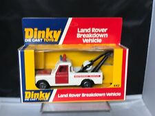 VINTAGE DINKY 442 LAND ROVER  BREAKDOWN  1977  EX SHOP STOCK BOXED NEVER OPENED