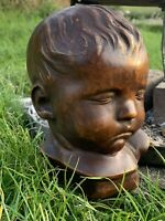 Antique Victorian 19th Century Baby Death Mask
