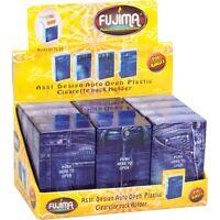 Fujima Flip Top Cigarette Case Kings Asst Blue Jean Style