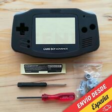 Carcasa para Game Boy Advance - Color NEGRO - [ GBA - Negra - Nueva ]