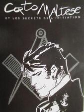 Corto Maltese - Exposition temporaire Hugo Pratt - Franc Maçonnerie Paris -