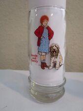 Vintage Annie & Sandy Glass 1982 Swensen'S Collector Euc