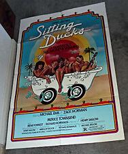 SITTING DUCKS original 1980 one sheet movie poster ZACK NORMAN/HENRY JAGLOM