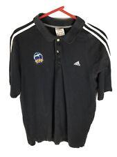 Vintage Adidas Alba Berlin Basketball Mens Sz 4XL Polo Black Fits Like 2XL