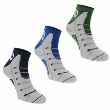 6 X Dunlop Mens Trainer Liners Ankle Socks Sports Running   Size 6-11 * OFFER *