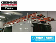 Adrian Steel 2BARRPM-B, 2 Bar Utility Rack with Roller for Dodge Promaster