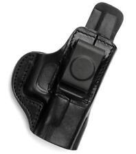 TAGUA IWB AIWB RH Black Leather Concealment Holster for BERETTA 92FS