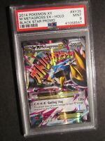 PSA-9 MEGA Pokemon M Metagross EX Card BLACK STAR PROMO Set XY35 Ultra Rare XY