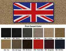 Lloyd Mats British Flag Velourtex Front Floor Mats (1950 & Up)