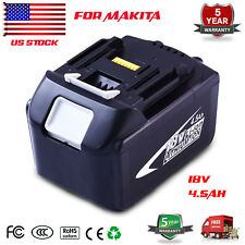 NEW 18V 18Volt 4.5Ah LITHIUM ION BATTERY LXT FOR MAKITA BL1845 US LATEST PACK