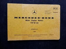 "MERCEDES-BENZ "" 250 & 250T ""  1976-1984 Original SPARE PARTS LIST / CATALOG rare"
