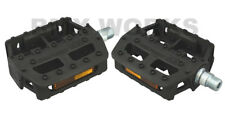 """Genuine MKS Graphite-XX Reproduction Pedals 9/16"""" Black - Sold In Pairs"""