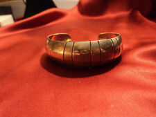Vintage Streling T8-62 hand crafted cuff