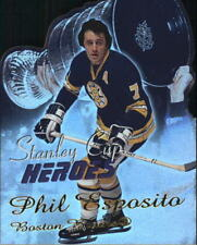 2001-02 Topps Stanley Cup Heroes #SCHPE Phil Esposito - Die Cut Refactor