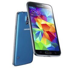 Samsung  Galaxy S5 SM-G900F - 16GB - Electric Blue (Ohne Simlock) Smartphone
