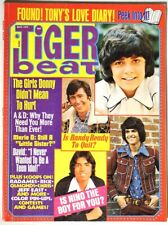Esa3537. Tiger Beat Vol. 10, #7 Mar. Issue feat. Color Pin-Up & More (1974)