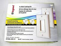Legrand In-Wall Cabling Kit HT2004-WH-V1 (Cable Access Kit) White FREE S&H!!