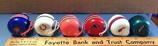 Vintage Toy Mini NFL Football Helmet Lot