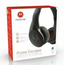 Motorola Pulse Escape Bluetooth Wireless Over-Ear Headphones Black W/Mic Sh012Bk