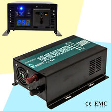 DC to AC Car Power Inverter 500W Pure Sine Wave Inverter 12/24/48V to 240V LED