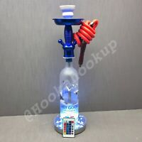 Grey Goose Vodka 1L Bottle Hookah With 16 Color Changing Led Stand With Remote