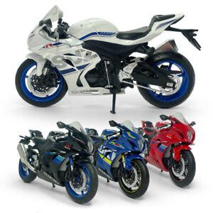 1:12 Scale Suzuki GSX-R1000 Motorcycle Model Diecast Sport Bike Toy Kids Gift