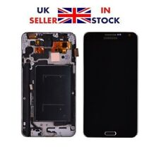 SAMSUNG Galaxy Note 3 N9005 TOUCH DISPLAY NERO RICAMBIO SCHERMO LCD + CORNICE
