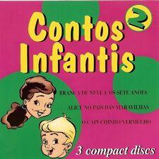 CONTOS INFANTIS - 3 CD SET - NEW