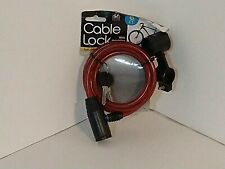 Cable Lock 6Ft. With Mounting Brackets by Bicycle Accessories