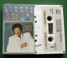 Lionel Richie Dancing On The Ceiling inc Say You Say Me + Cassette Tape - TESTED