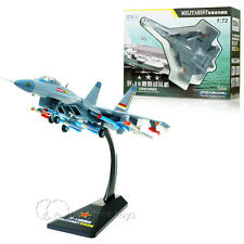 KAIDIWEI 1/72 Scale Diecast Airplanes Military J15 Carrier Based Aircraft Model