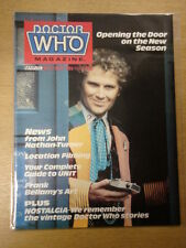 DOCTOR WHO #112 1986 MAY BRITISH WEEKLY MONTHLY MAGAZINE DR WHO DALEK CYBERMEN