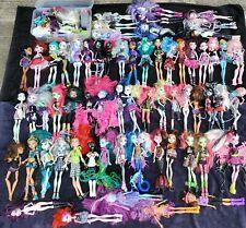Rare Huge Lot Of 64 Monster High Dolls OOP Accessories Bundle