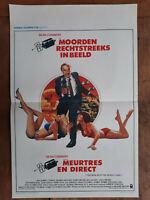 Plakat Belgischer Morde Aus Direct Richard Brooks Sean Connery