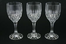 Set of 3 Bretagne by Cristal D'Arques Glass Water Goblets 7 5/16 in