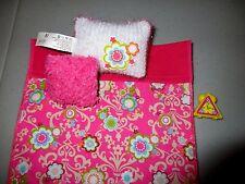 Barbie Doll Bedding Pillows Pink Flowers  Clock   Lot F7