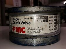 "2"" FMC Weco 3248036 Check Valve"