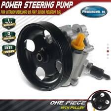 Power Steering Pump for Citroen Berlingo B9 Fiat Scudo Peugeot Partner 1.6 HDI