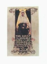 Original vintage print THE QUEST OF THE GOLDEN GIRL