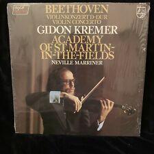 GIDON KREMER violin - BEETHOVEN Violin Concerto - PHILIPS  ST LP 1982 in shrink