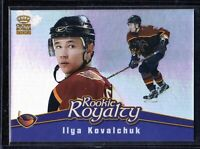 2001-02 Pacific Crown Royale Rookie Royalty #2 Ilya Kovalchuk Thrashers Card