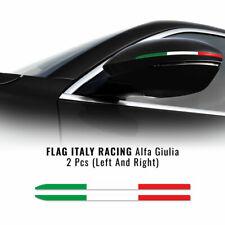 Stripes Strisce Adesive Tricolore Italia per Specchietti Alfa Romeo Giulia
