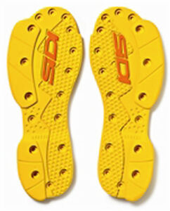 Sidi SMS Genuine Crossfire Supermoto Off Road Boot Soles Red or Yellow