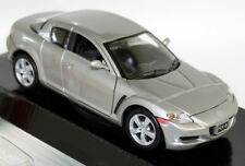 Motormax 1/24 Scale 73323s Mazda RX-8 RX8 RHD Silver Diecast Model Car