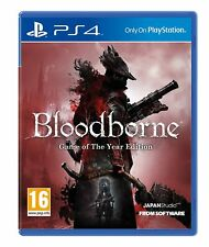 Bloodborne Game of the Year Edition Playstation 4 (PS4) - Brand new - Free Ship!