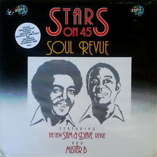 NEW SAM & DAVE REVUE AND MISTER B - STARS ON 45 - SOUL REVUE - 1985 - SEALED LP