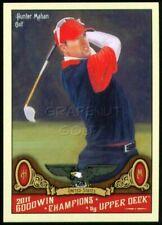 HUNTER MAHAN 2011 PRESIDENTS CUP UD GOODWIN CHAMPIONS PGA GOLF #124 OKLAHOMA ST