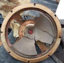 """vintage ZENITH 6S362 RADIO part:   10 & 1/4"""" FIELD COIL SPEAKER  49-208AB"""