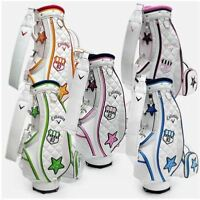 CALLAWAY Ladies Sports Golf Caddy Bag 3 Color Tour Carry Cart Authentic v_e